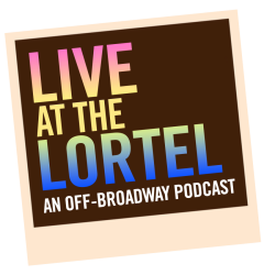 Live at the Lortel logo